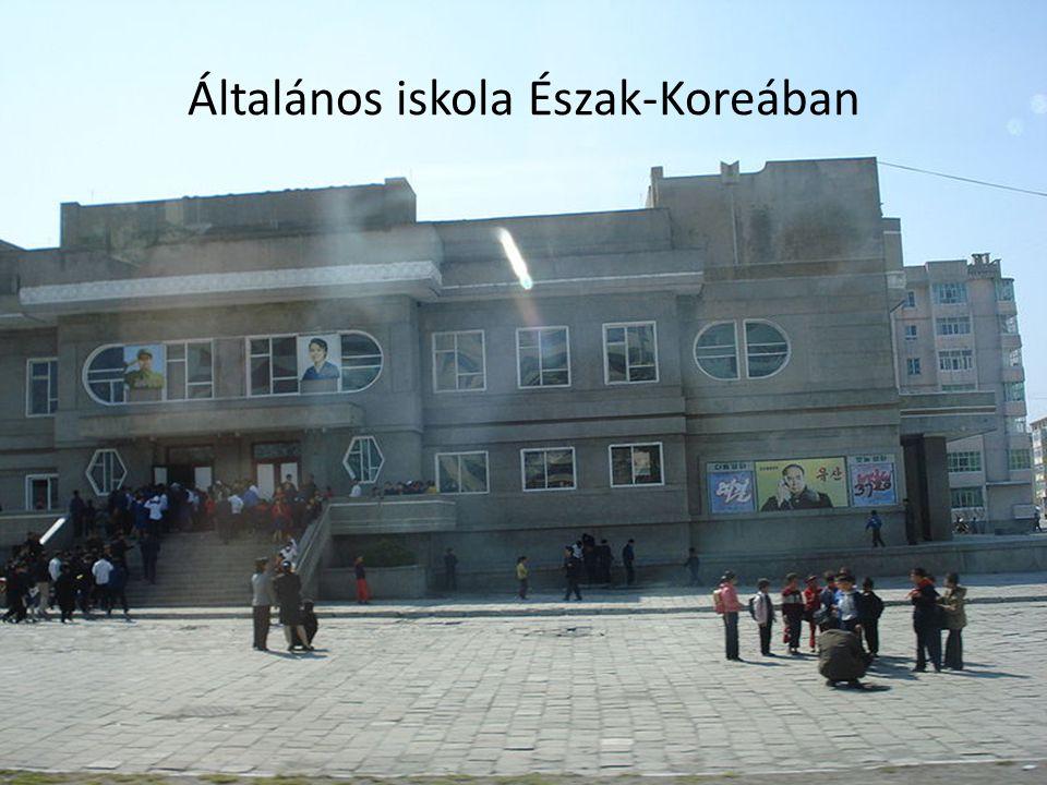 Általános iskola Észak-Koreában