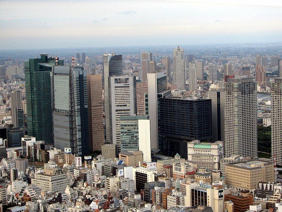 Települések Tokió 12 millió fő