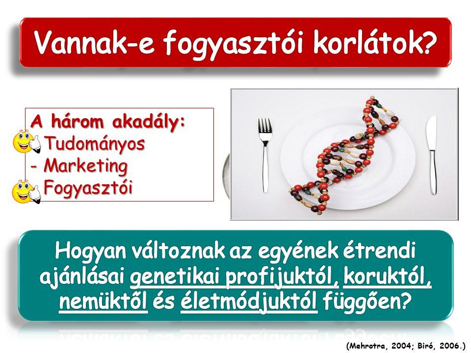 A személyre szabott táplálkozás egy olyan koncepció, amely az étrendet, az élelmiszereket, illetve a tápanyagokat az adott személy egyéni (genetikai,