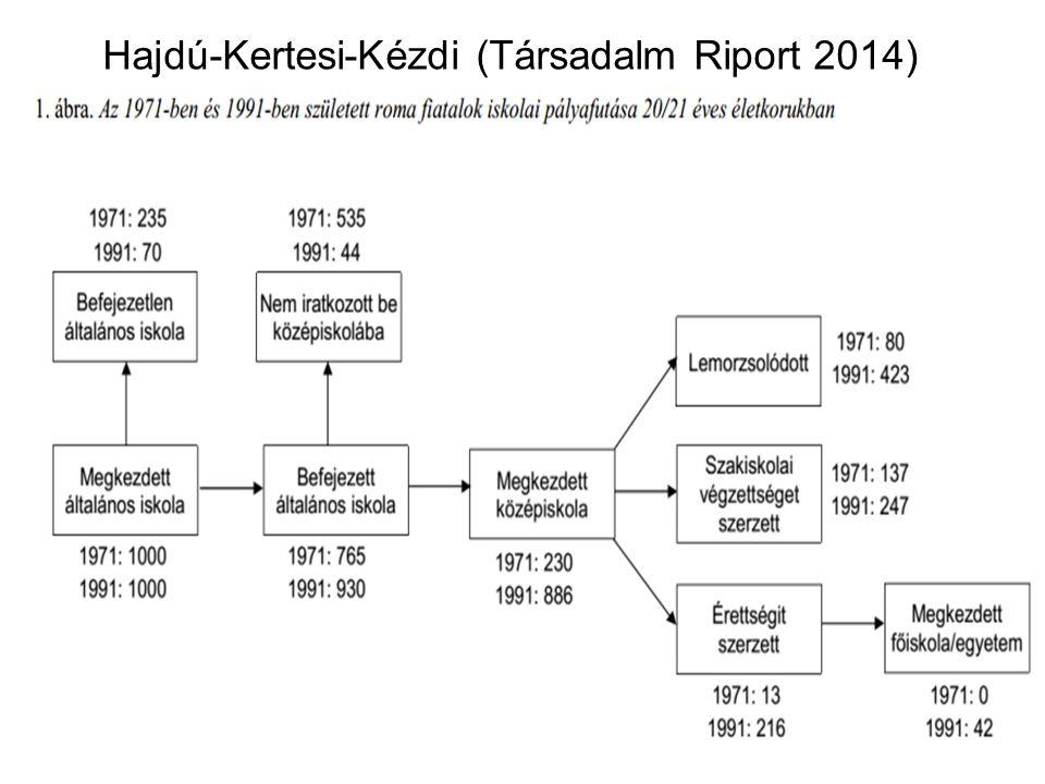 Hajdú-Kertesi-Kézdi (Társadalm Riport 2014)