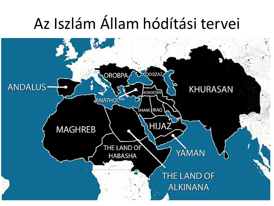 Az Iszlám Állam hódítási tervei