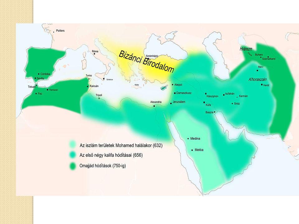 Iszlám Újjászületés A muzulmán országok egyre inkább az iszlám felé fordulnak, amely nem csak a vallásban jelenik meg, hanem a közéletben is: o Hagyományos értékrend o Vallási gyakorlat növekvő hangsúlya o Vallásos programok o Iszlám irányultságú kormányzatok, törvények, oktatási intézmények A muszlimok egyre inkább az iszlámban látják a megoldást és a nyugati ideológiákat igyekeznek elhagyni.