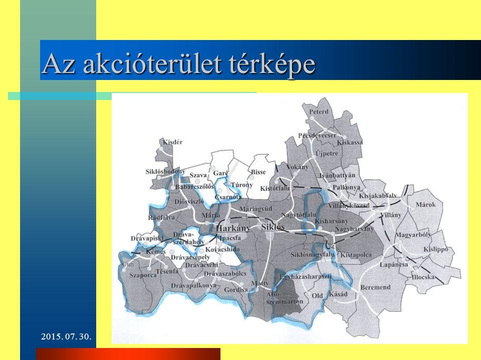 2015. 07. 30.4 Az akcióterület térképe