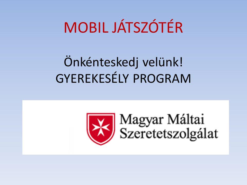 """A Magyar Máltai Szeretetszolgálat - vezetőjének, Kozma atyának """"a szükség csak közelről látszik gondolatát a gyakorlatba ültetve - a kistérségekben játszóbuszaival, a Mobil Játszótér programmal jelenik meg, végzi szakmai segítő, támogató munkáját."""
