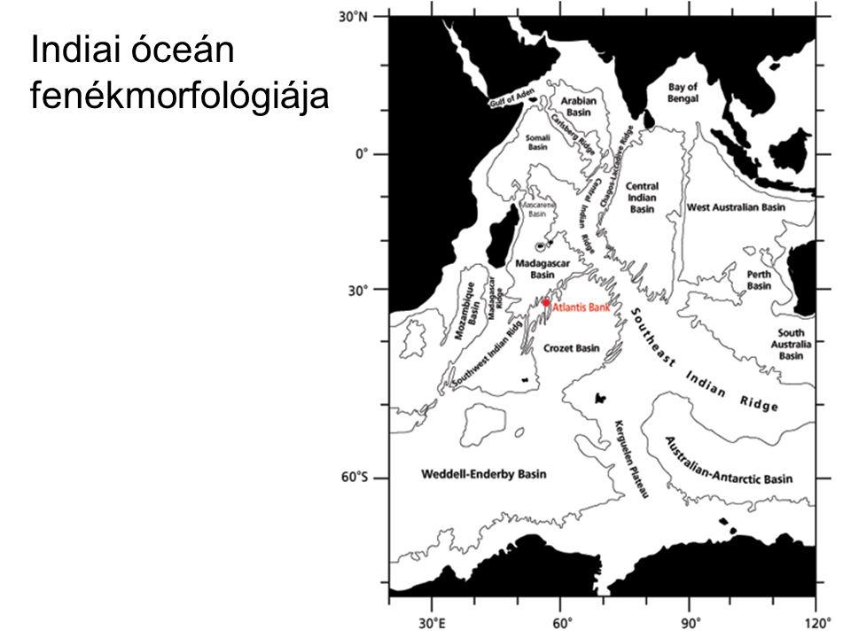 Indiai óceán fenékmorfológiája