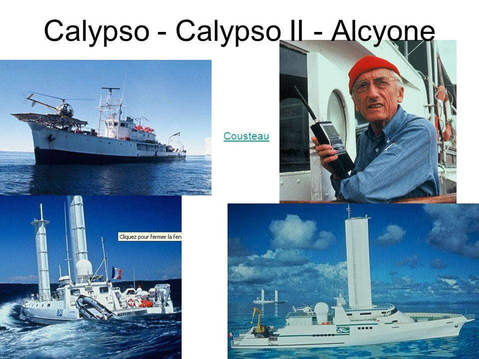 Calypso - Calypso II - Alcyone Cousteau