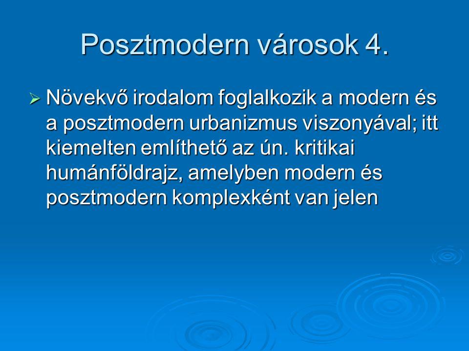 Posztmodern városok 4.