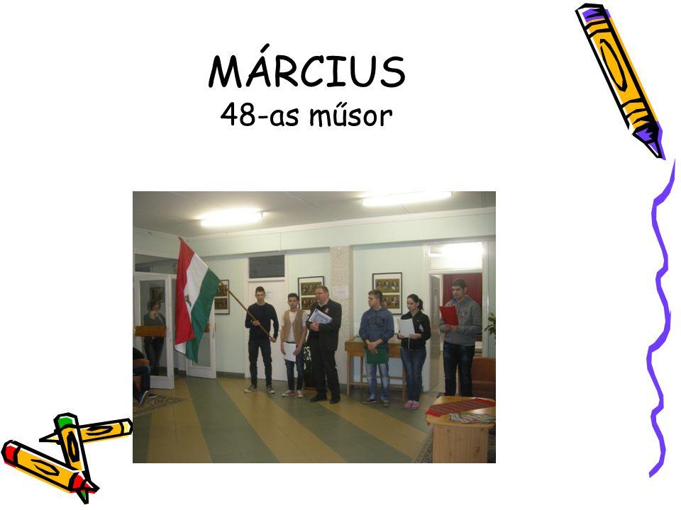 MÁRCIUS 48-as műsor