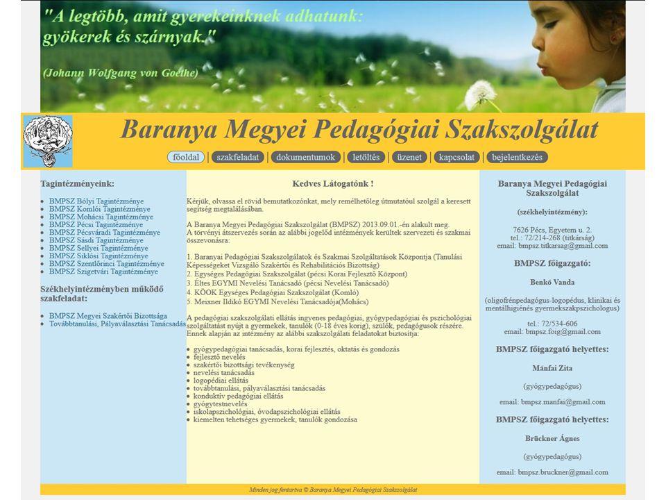 Működését meghatározó törvények,rendeletek - 2011.