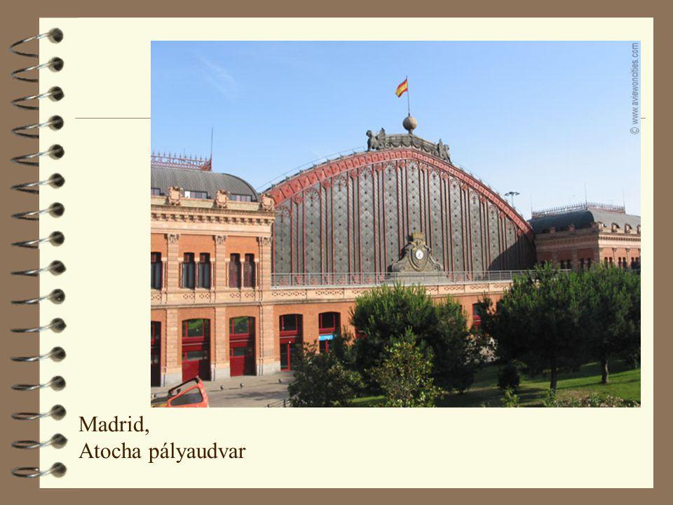 Madrid, Atocha pályaudvar