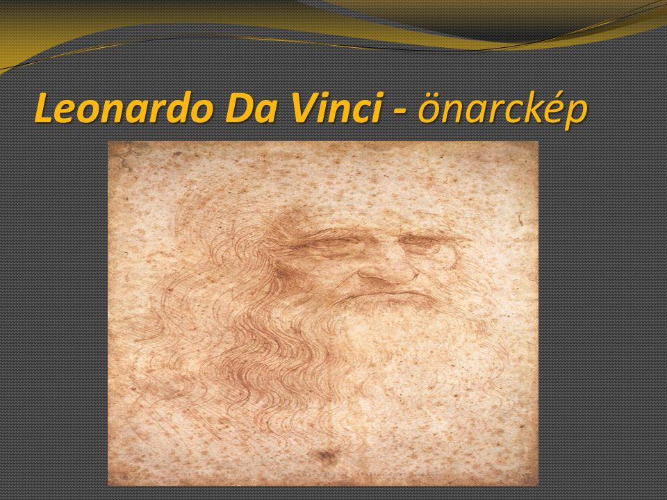 Leonardo Da Vinci - önarckép