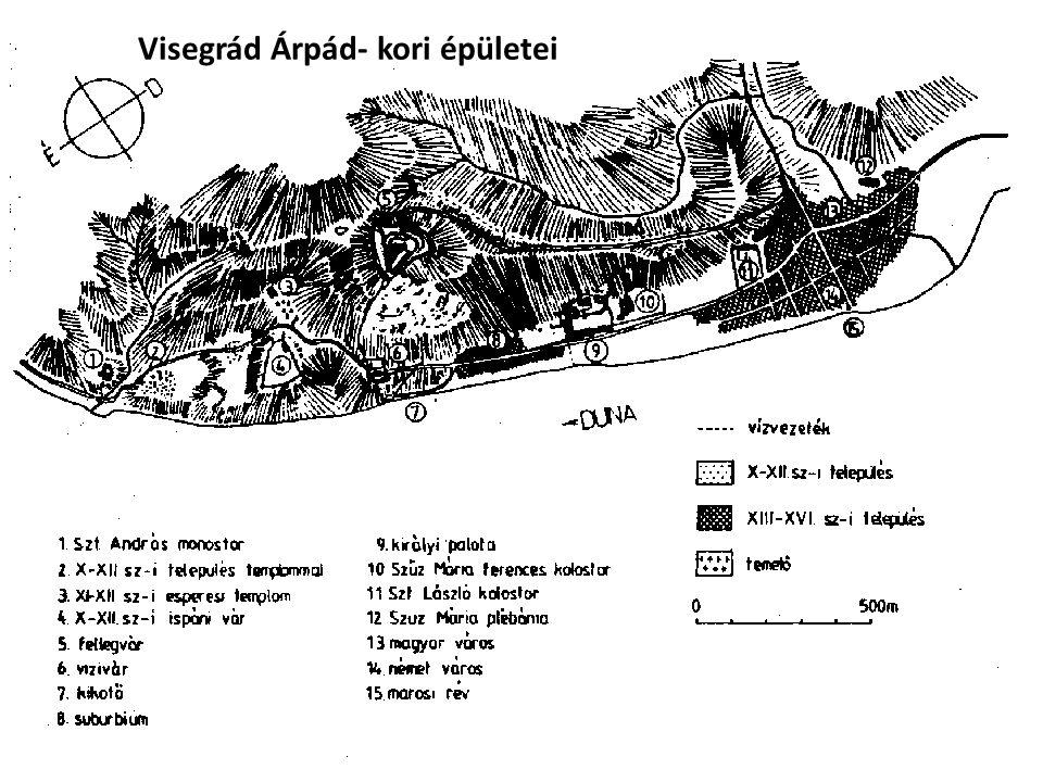 Visegrád Árpád- kori épületei