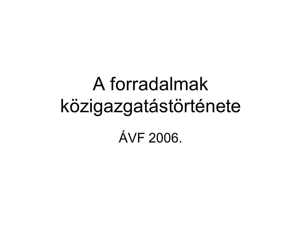 A Magyar Népköztársaság államszervezete (1918.október 25- 1919.