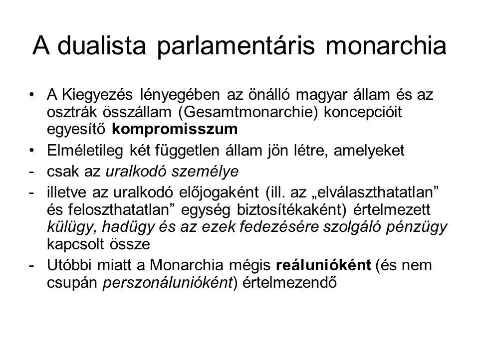 Polgári állam – polgári igazgatás A nagybirtok és a nagytőke érdekeit képviselő kormányok célja a polgári fejlődés feltételeinek biztosítása -A jogállam (Rechtsstaat) koncepciója: adócenzusos választójogon alapuló képviselet, törvények primátusa, parlamentnek felelős kormányzati rendszer -Igazgatás: a törvények adta keretek közötti – kivételesen: e felhatalmazáson nyugvó – szervező-végrehajtó tevékenység -Az igazgatási feladatok bonyolultabbá válásával az általános igazgatásból (belügy) a szakigazgatás egyre változatosabb formái válnak ki -Ebbe a folyamatba illeszkedik az 1869.