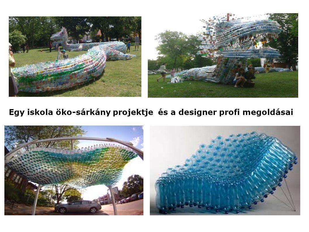 Egy iskola öko-sárkány projektje és a designer profi megoldásai