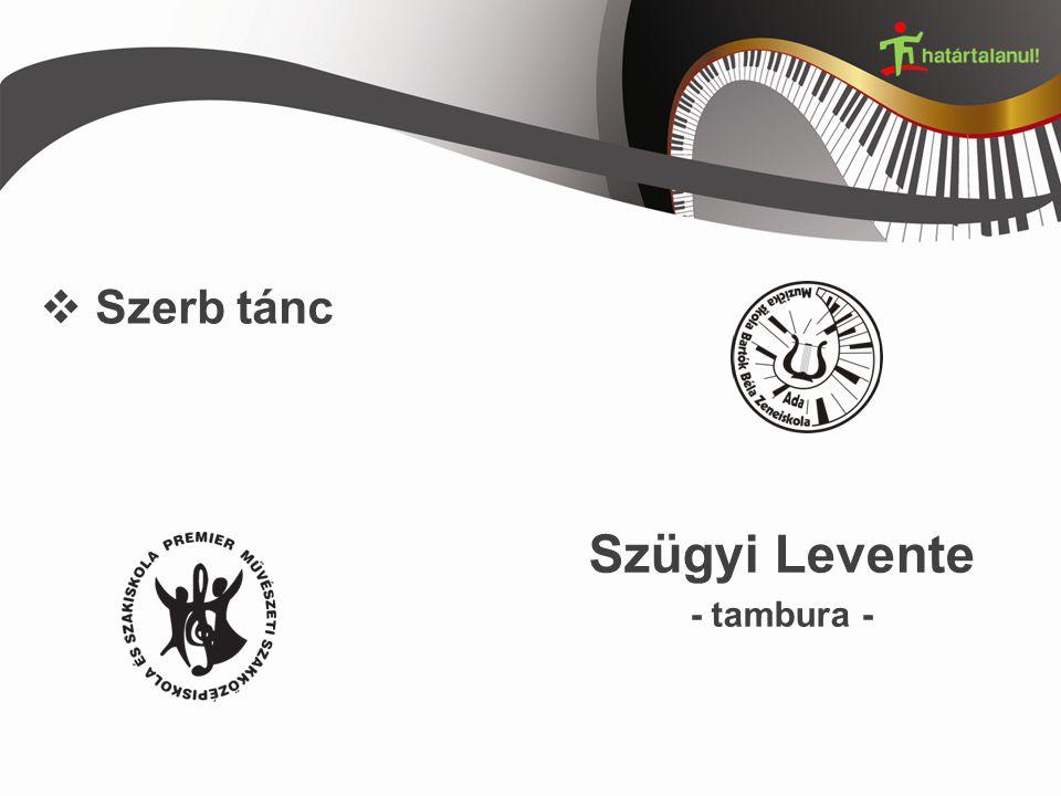  Szerb tánc Szügyi Levente - tambura -