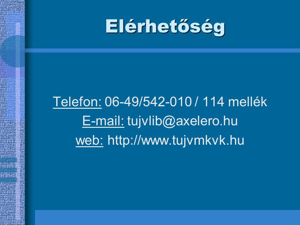 Készítette Riczu Józsefné könyvtár-informatikus szak II.évfolyam; II.félév 2004