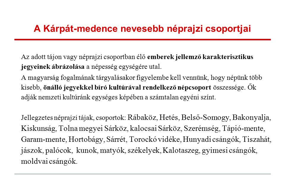 Magyar irodalom: A térkép segítségével könnyen beazonosíthatjuk egy-egy népköltészeti alkotás gyűjtési helyét (pl: palóc népmese, vagy székely népballada).