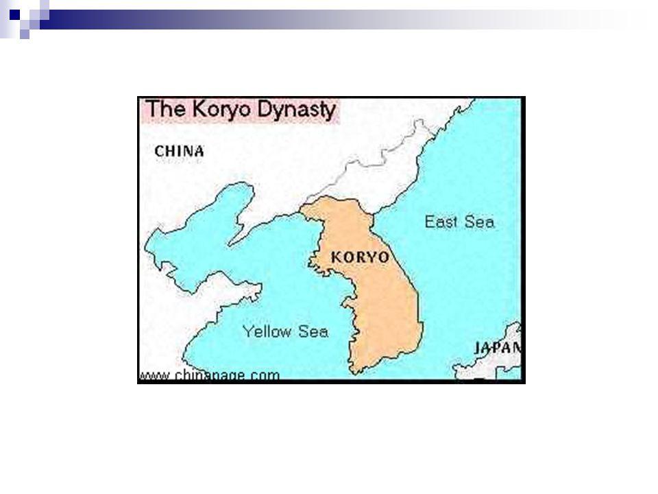 """Koryŏ (918/935-1392), T'aejo Wang-Kŏn (918-943)  Koguryŏ területének helyreállítása, védekezés a barbár eredetű de elkínaisodott Kitaj (907-1125) ellen  kitaj támadások (1010., 1018) (Hunyo sipcho """"Tíz parancsolat )."""