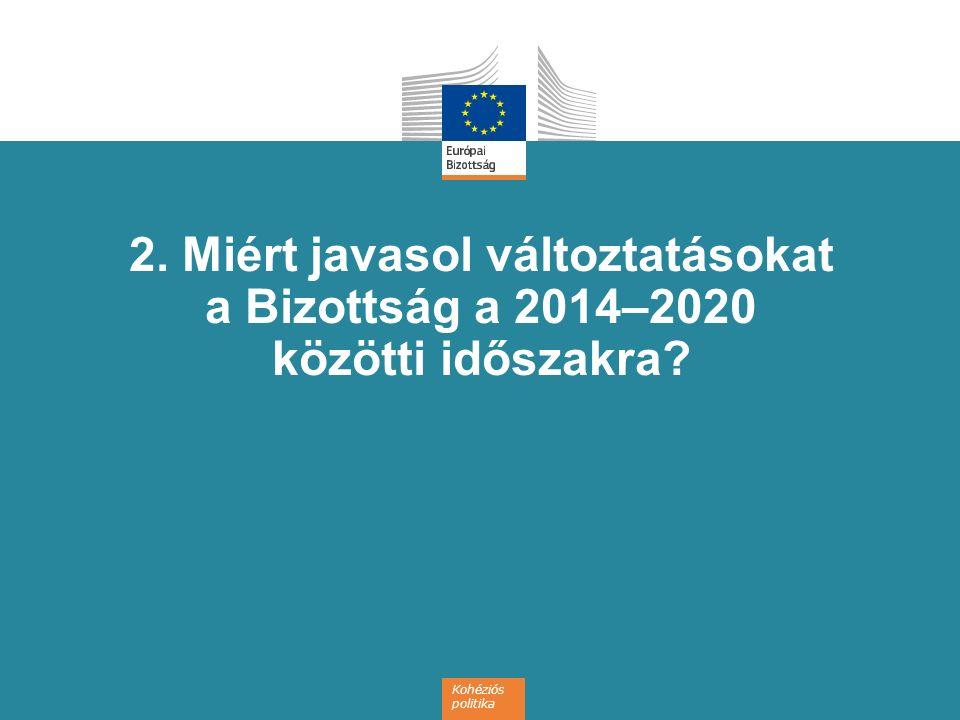 18 Egyszerűsítés Közös szabályok – az alapok a Közös stratégiai keret hatálya alá tartoznak Kohéziós politika, vidékfejlesztés, valamint tenger- és halászati politika Lehetőség több alap forrásaira támaszkodó programokra ERFA, ESZA és Kohéziós Alap A teljesítési rendszer egyszerűsítése Harmonizált szabályok a jogosultságok és az időtartamok tekintetében Az egyszerűsített költségnyilvántartás körének bővítése A kifizetések összekapcsolása az eredményekkel e-kohézió: egyablakos rendszer a kedvezményezetteknek Arányos ellenőrzési erőfeszítések