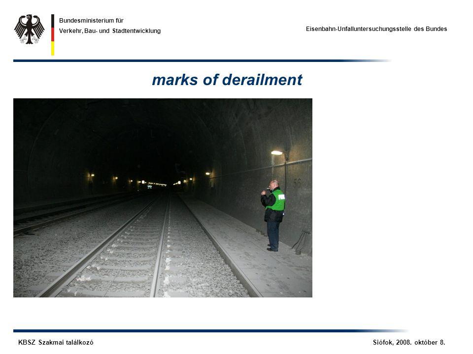 Eisenbahn-Unfalluntersuchungsstelle des Bundes KBSZ Szakmai találkozó Siófok, 2008.