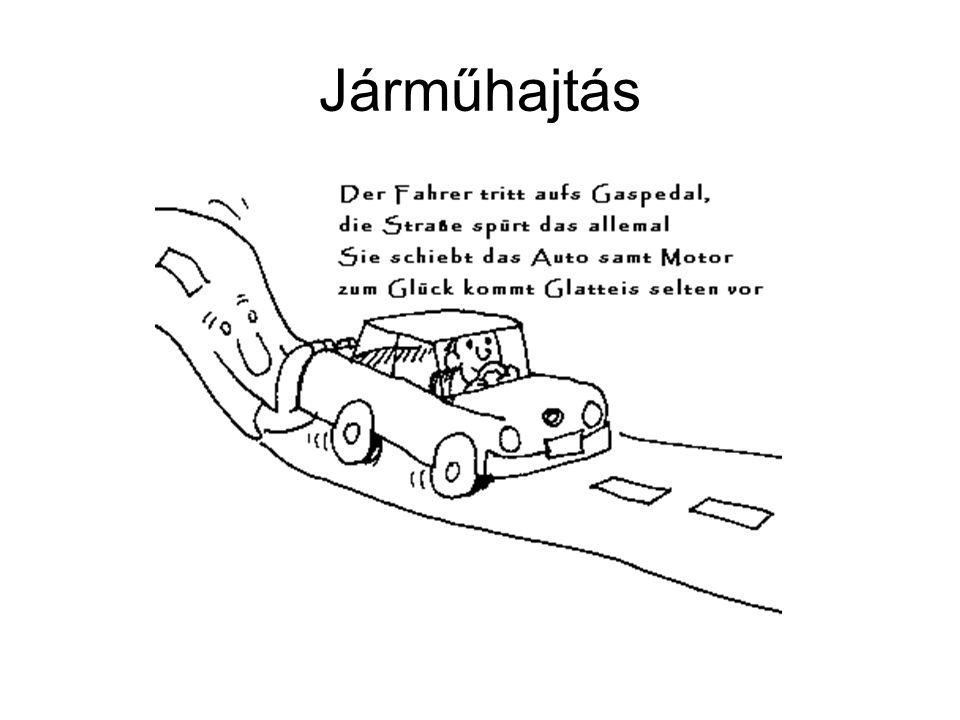 A járműre ható erők