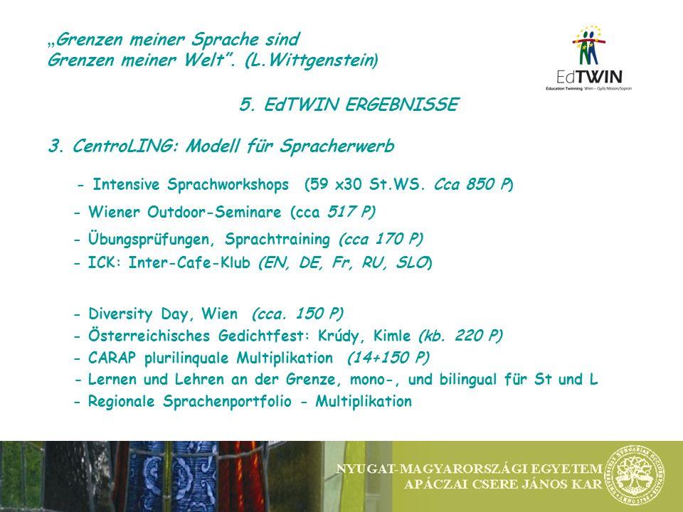 5. EdTWIN ERGEBNISSE 3.