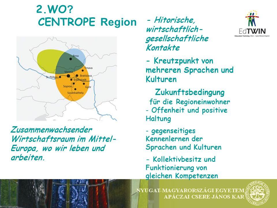 5.EdTWIN ERGEBNISSE 1.CentroSCHOOLING: Bildungskooperation I.