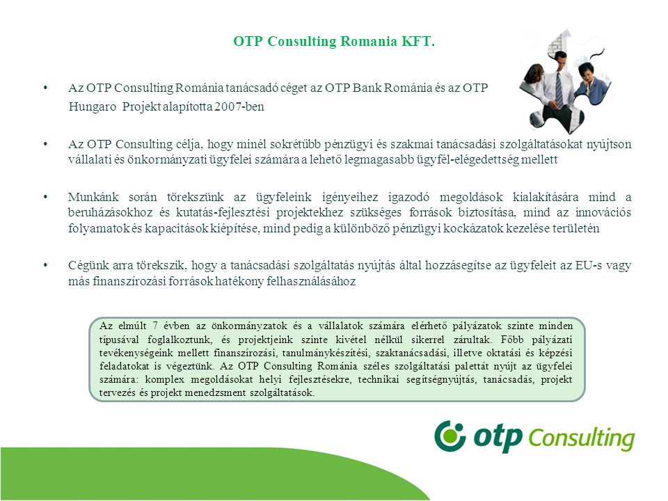 OTP Consulting Romania KFT.