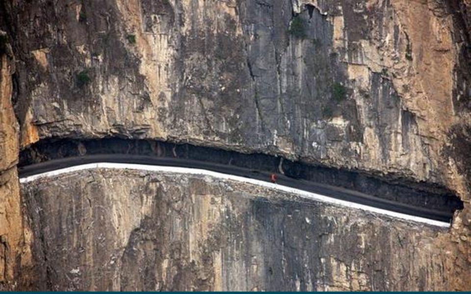 Xinzang autóút A Xinjiang -Tibet autóút a 219.