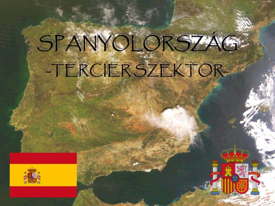 SPANYOLORSZÁG -TERCIER SZEKTOR- SPANYOLORSZÁG -TERCIER SZEKTOR-