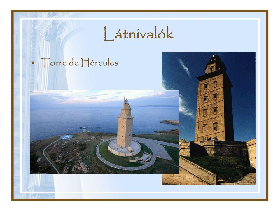 Látnivalók Torre de Hércules