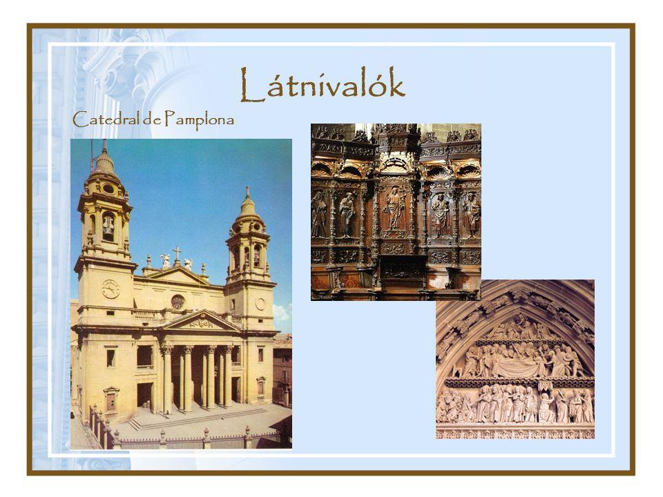 Látnivalók Catedral de Pamplona