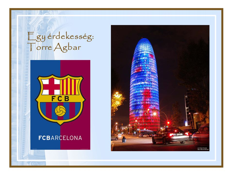 Egy érdekesség: Torre Agbar