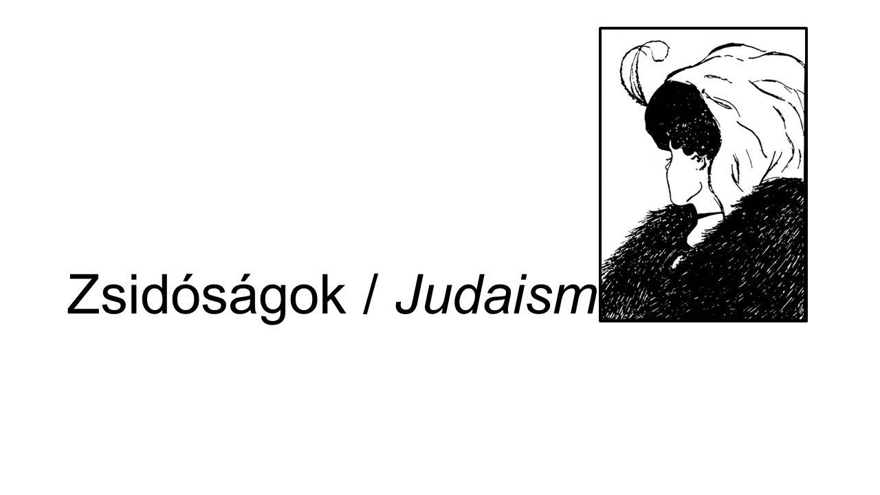 Zsidóságok / Judaisms