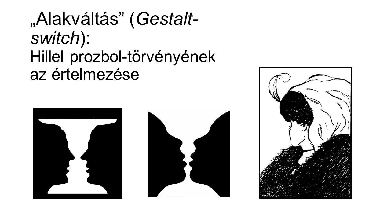 """""""Alakváltás (Gestalt- switch): Hillel prozbol-törvényének az értelmezése"""