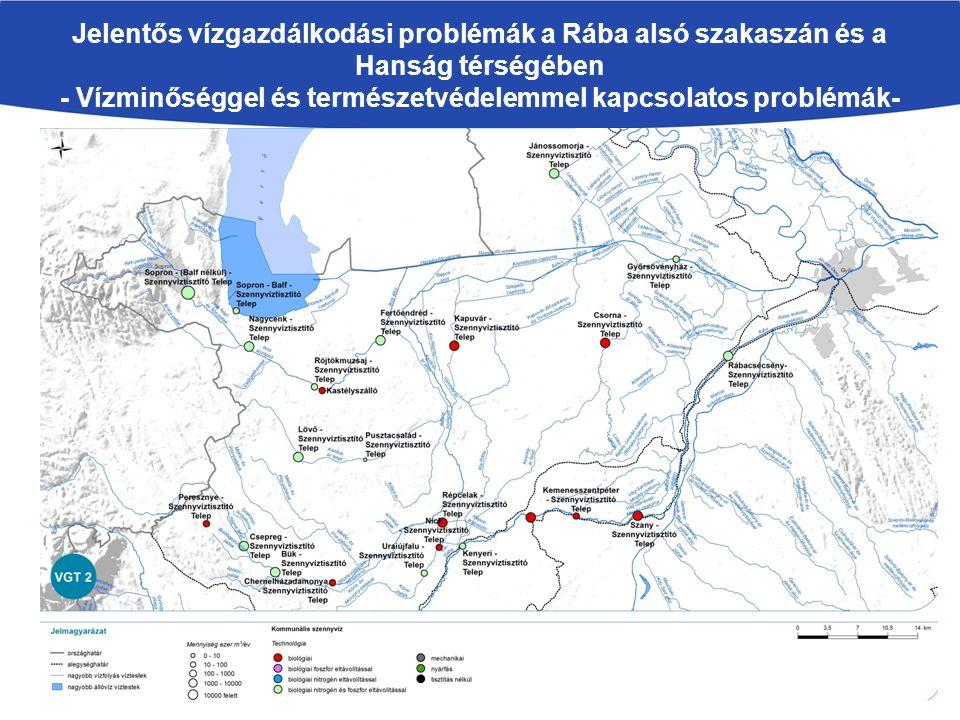 Kettős probléma (időszakos- és kisvízfolyások esetében): Nem kívánatos mederelfajulások okozása A tisztított szennyvíz, különösen ha a kibocsátó telep nem rendelkezik III.