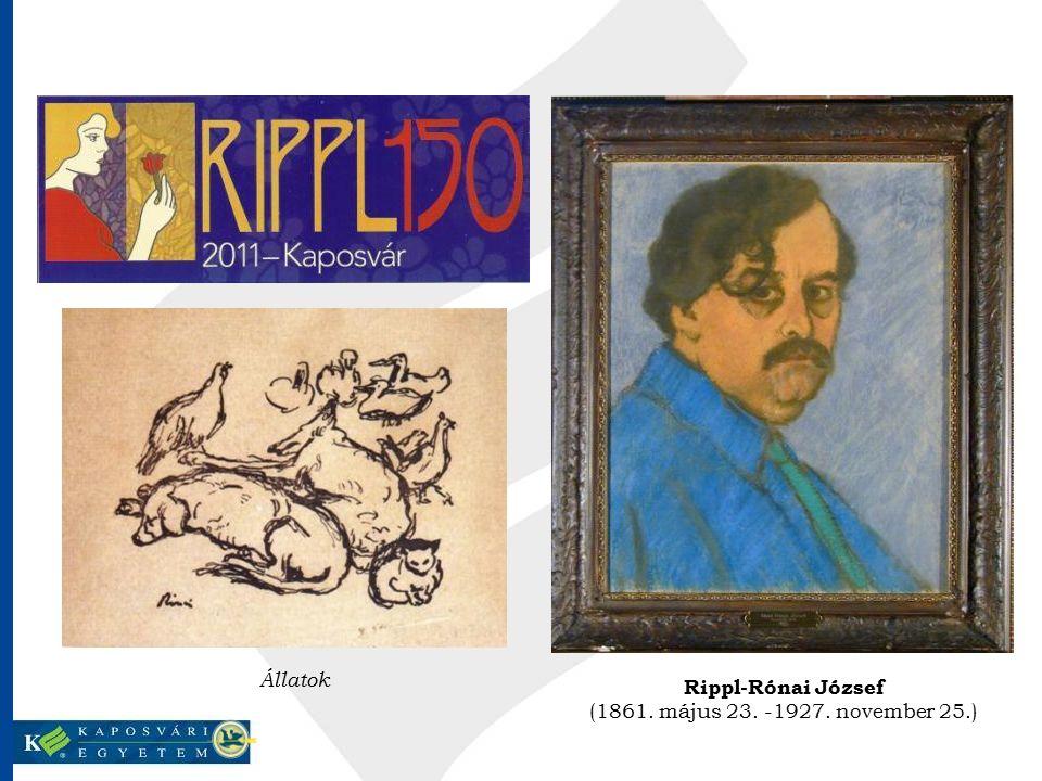 Állatok Rippl-Rónai József (1861. május 23. -1927. november 25.)
