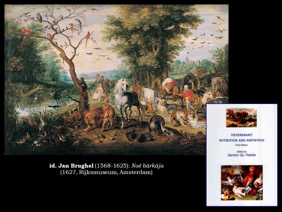 id. Jan Brughel (1568-1625): Noé bárkája (1627, Rijksmuseum, Amsterdam)
