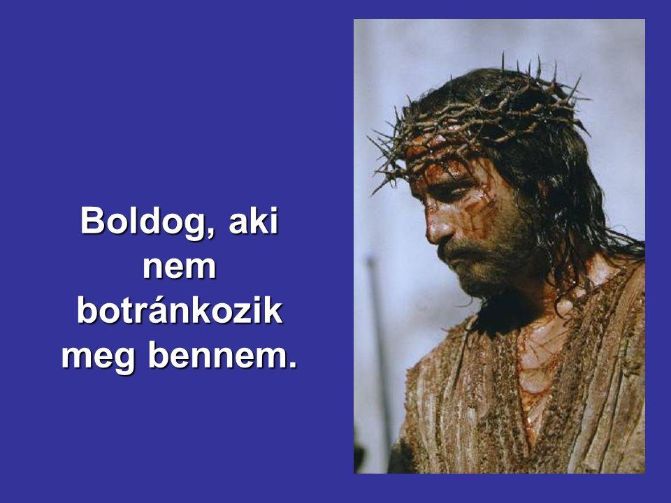a halottak föltámadnak, a szegényeknek pedig hirdetik az evangéliumot.