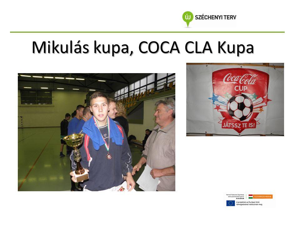 Mikulás kupa, COCA CLA Kupa