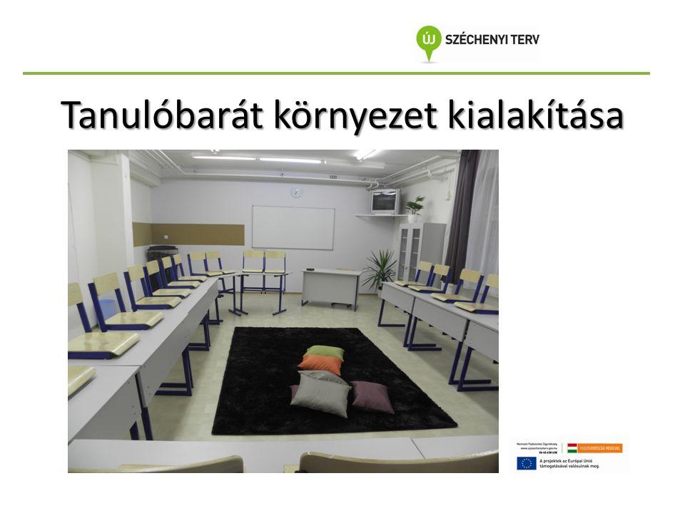 Tanulóbarát környezet kialakítása