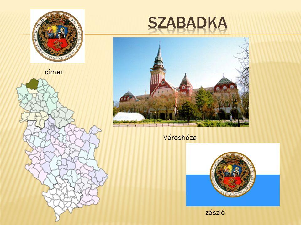 címer zászló Városháza