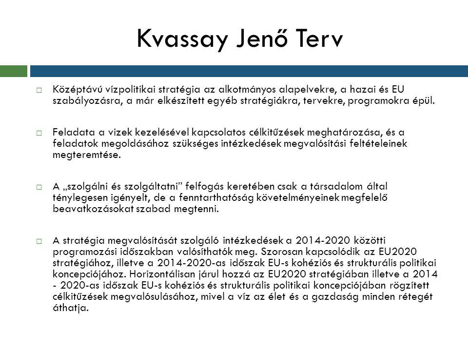  Középtávú vízpolitikai stratégia az alkotmányos alapelvekre, a hazai és EU szabályozásra, a már elkészített egyéb stratégiákra, tervekre, programokr