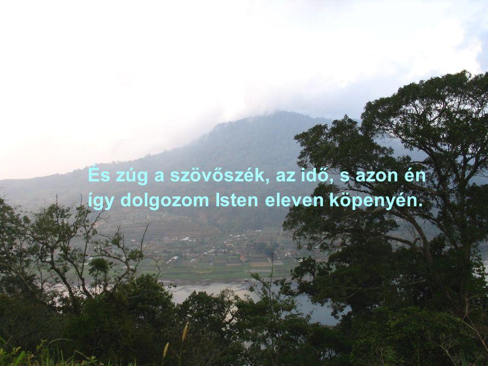 S van rá reménység! - Hisz a híg elem dombok körül gyűrűzni kénytelen;