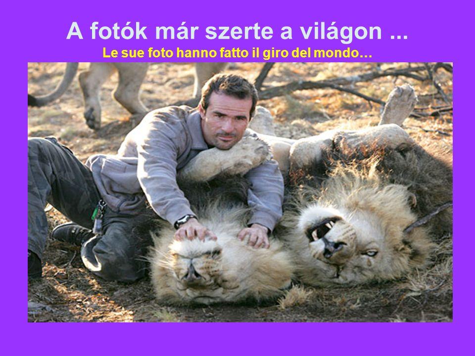És a vadon élő állatok... E degli animali selvatici…