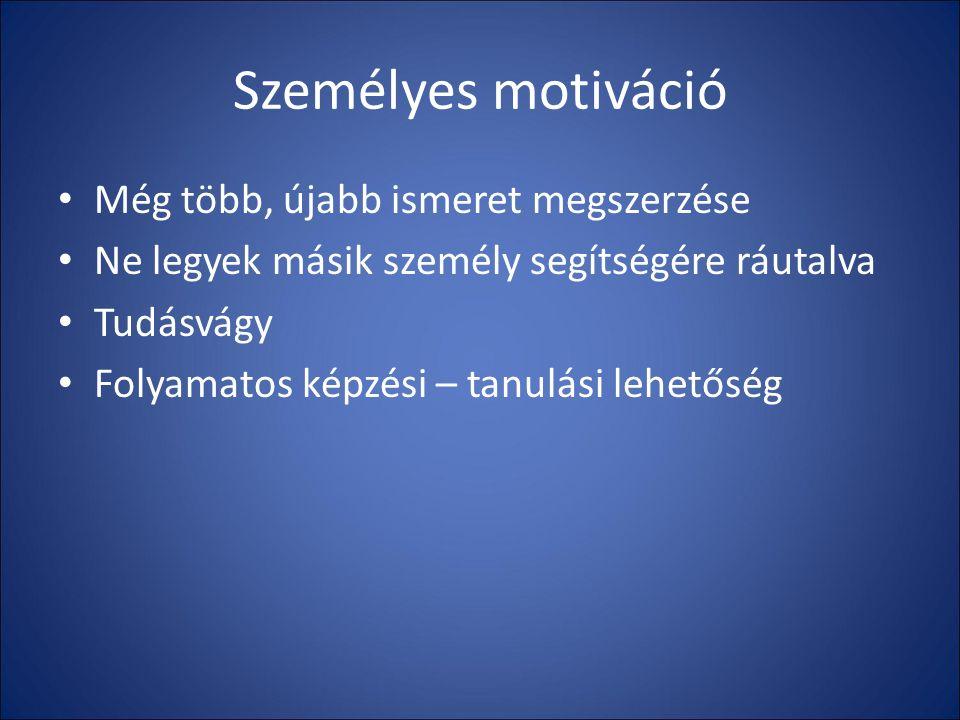 Tanulni, képezni magunkat soha nem késő!