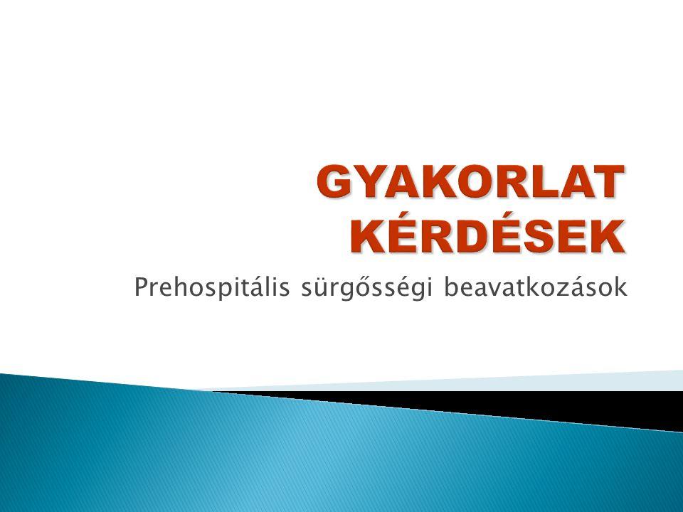  Fontos a pszichiáter szakmai felügyelete (diagnózis!).