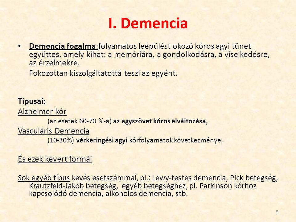 Fontos, hogy változatos, mégis stabil legyen a demens beteg napja.