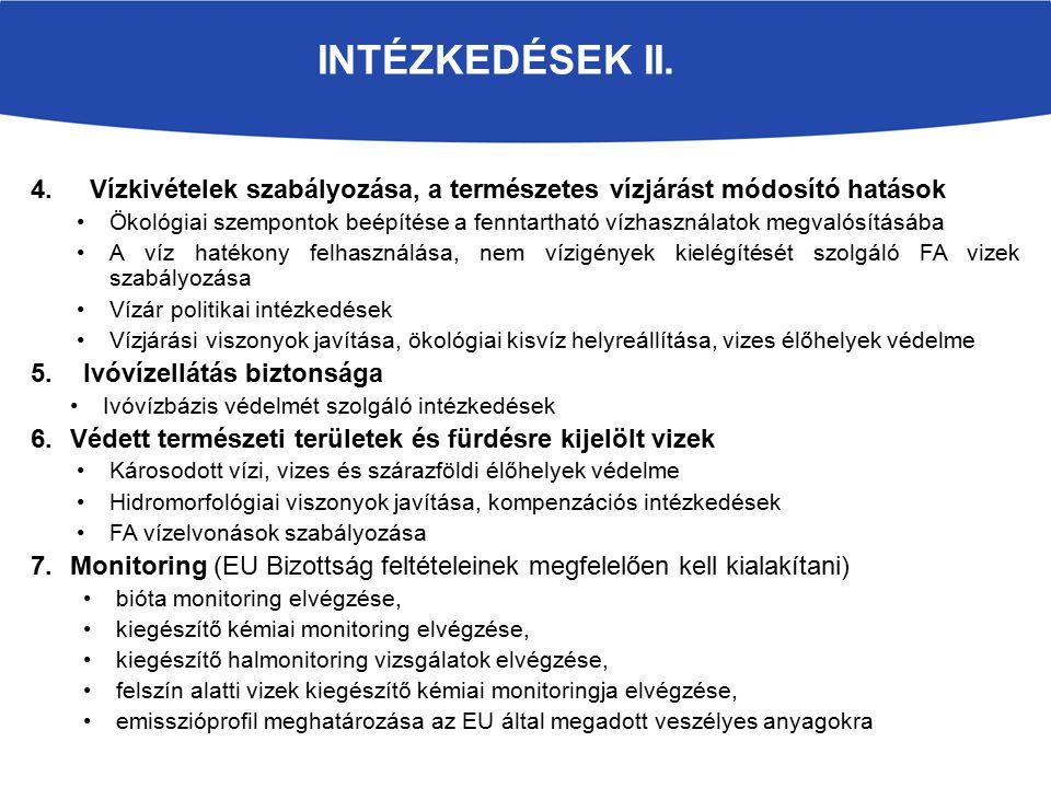 INTÉZKEDÉSEK II.